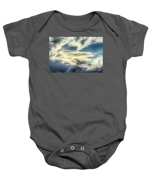 Drama Clouds Baby Onesie