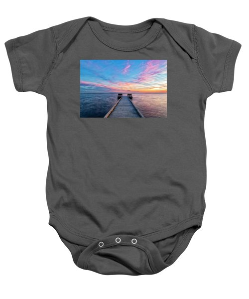 Drawn To Beauty Baby Onesie