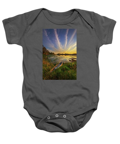 Dreams Of Dusk Baby Onesie