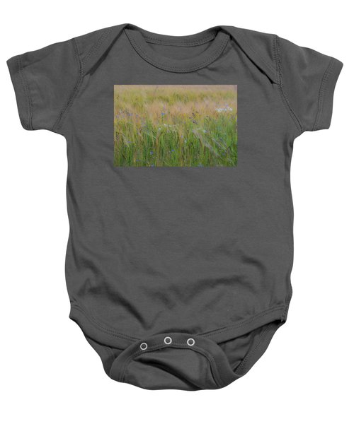 Dreamy Meadow Baby Onesie