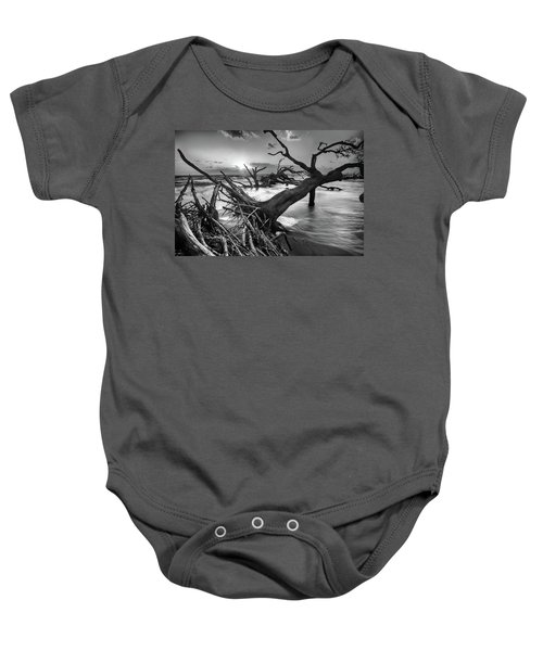 Driftwood Beach 8 Baby Onesie