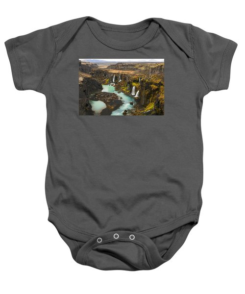 Driven To Tears Baby Onesie