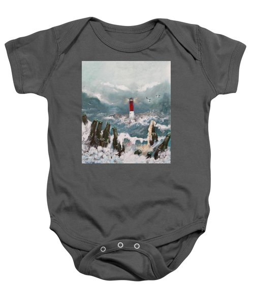 Drown In Alcohol Baby Onesie