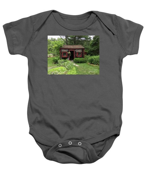 Drying Shed For Herbs Baby Onesie