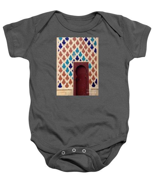 Dubai Doorway Baby Onesie