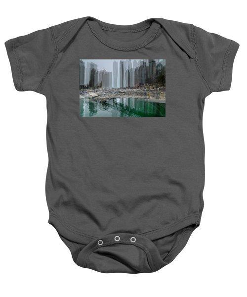 Dubai Marina  Baby Onesie