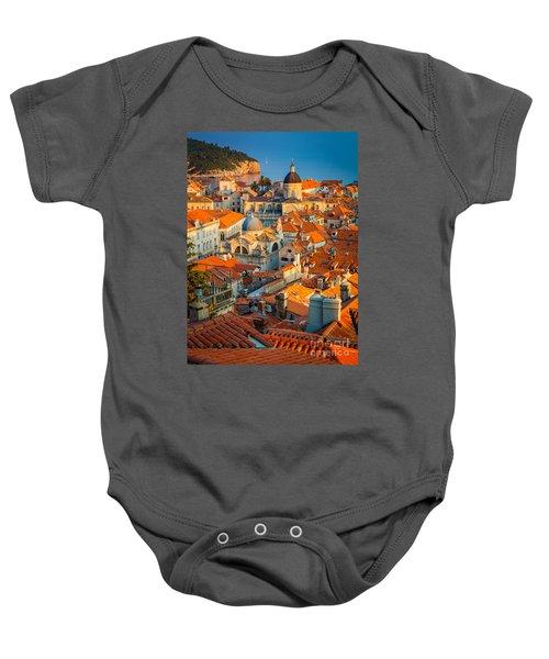 Dubrovnik Sunset Baby Onesie