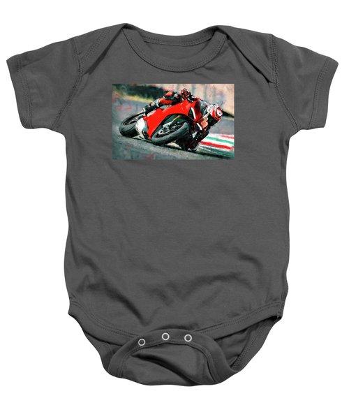 Ducati Panigale V4 - 01 Baby Onesie