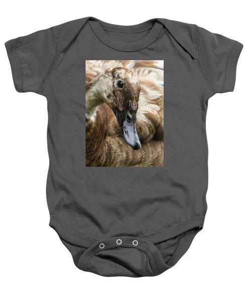 Ducks Head Baby Onesie