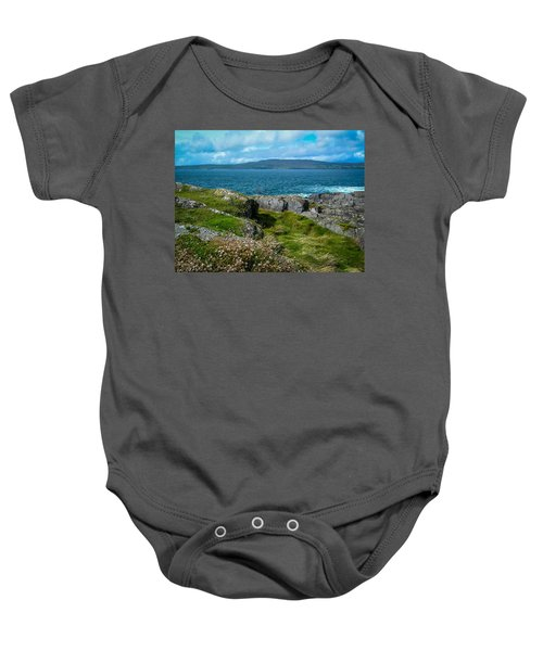 Baby Onesie featuring the photograph Dunmanus Bay Seascape by James Truett