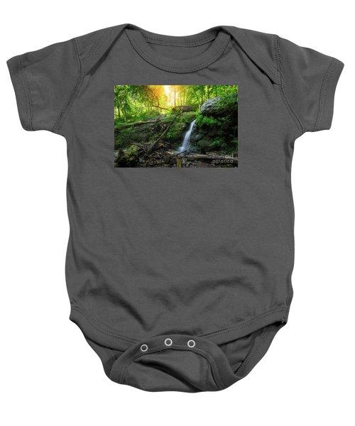 Dunnfield Creek Sunrise  Baby Onesie