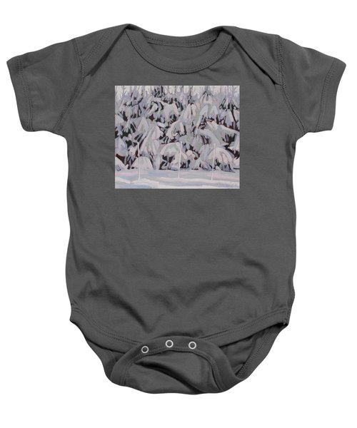 During The Storm Baby Onesie