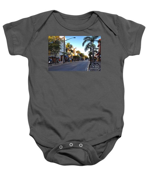 Duval Street In Key West Baby Onesie