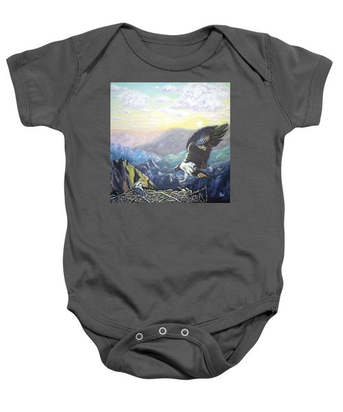 Eagle At Home Baby Onesie