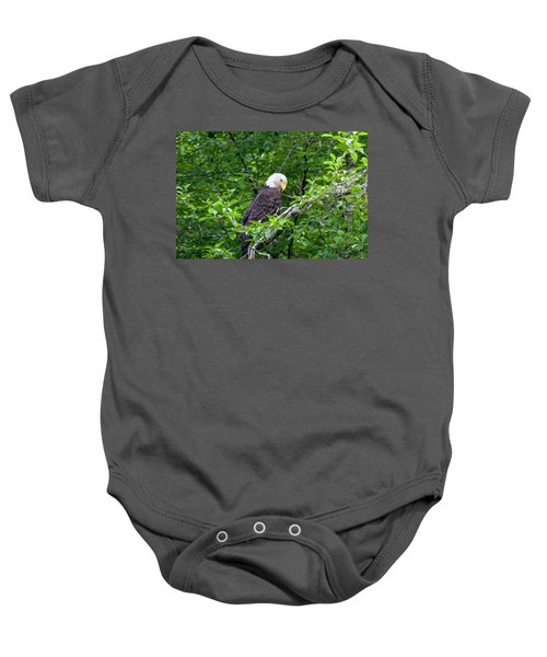 Eagle In The Tree Baby Onesie