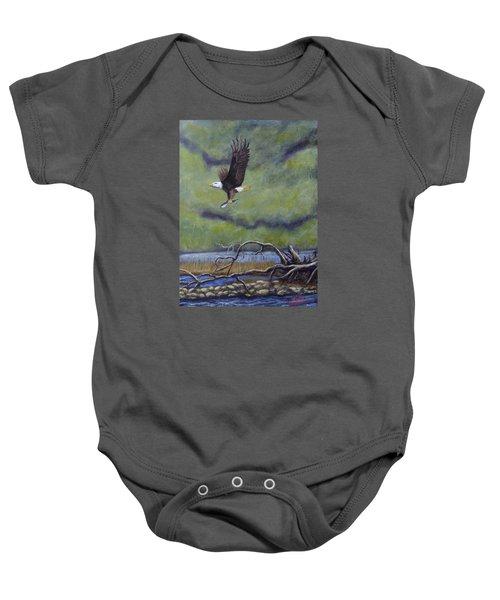 Eagle River Baby Onesie