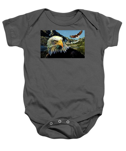 Eagles Lake Baby Onesie
