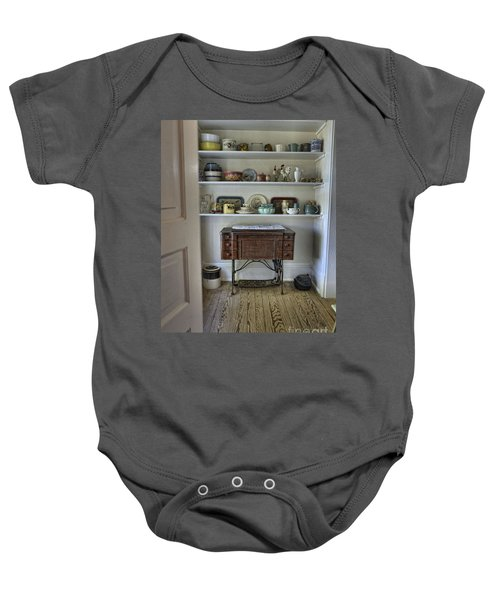 Early American Style Baby Onesie