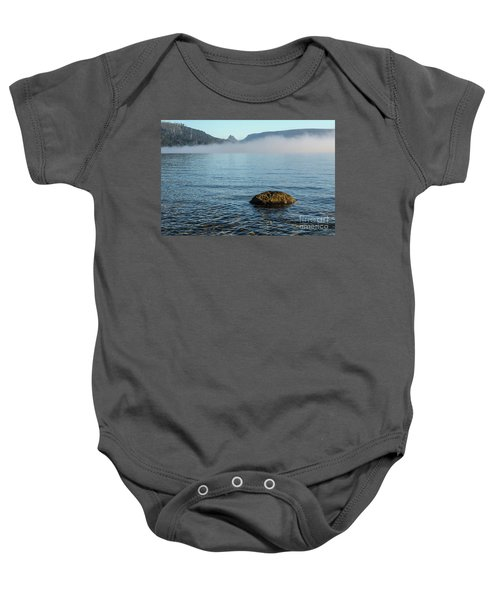 Baby Onesie featuring the photograph Early Morning At Lake St Clair by Werner Padarin