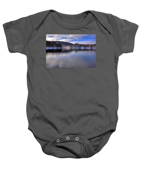 Early Snow On West Lake Baby Onesie