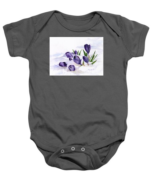 Early Spring In Montana Baby Onesie
