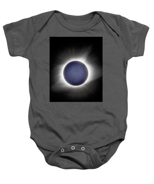 Earth-shine Baby Onesie