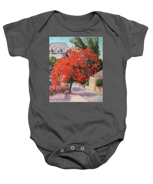 East And Shirley Street Baby Onesie