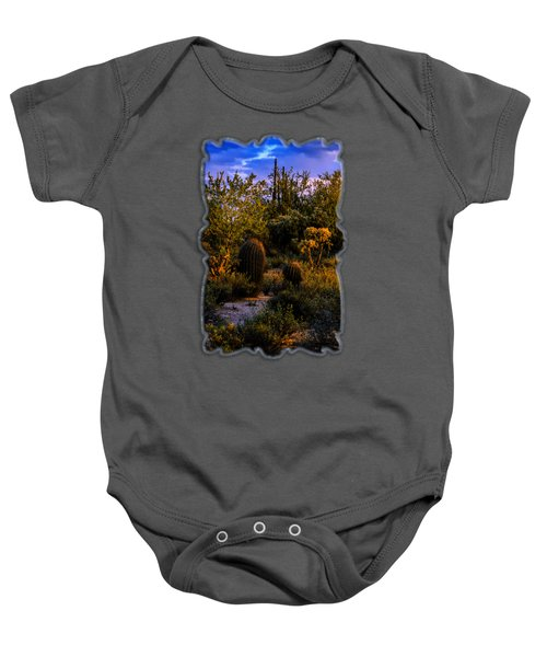 East Of Sunset V40 Baby Onesie