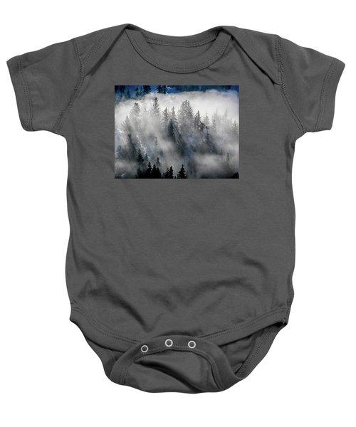East Shore Inversion, Lake Tahoe Baby Onesie