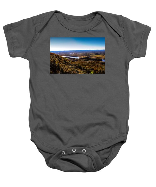 Easthampton View From Summit House Baby Onesie