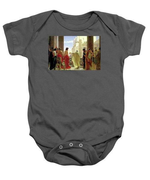 Ecce Homo Baby Onesie
