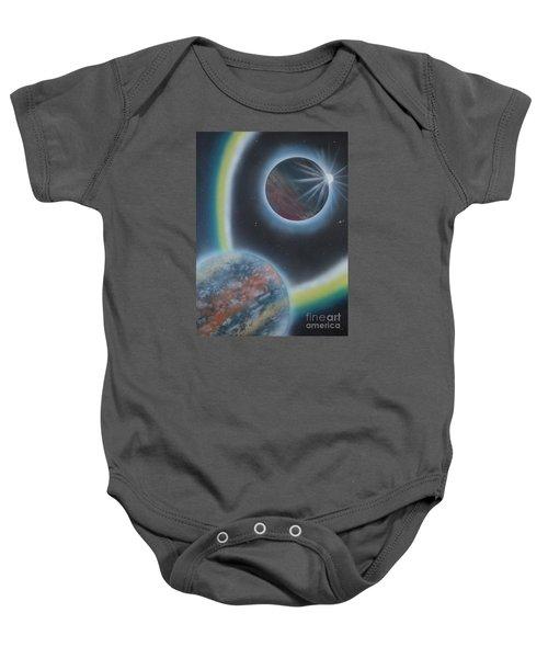 Eclipsing Baby Onesie