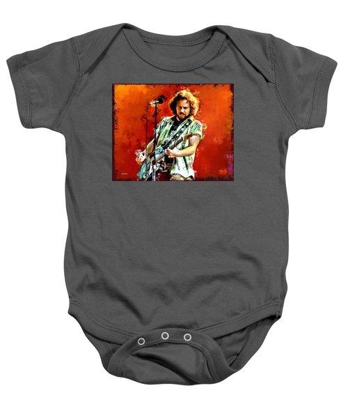 Eddie Vedder Of Pearl Jam Baby Onesie