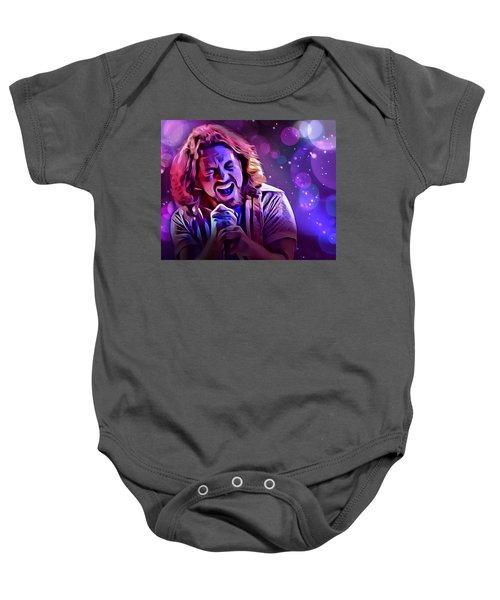 Eddie Vedder Portrait Baby Onesie