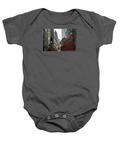 Egg Shaped Building A Baby Onesie