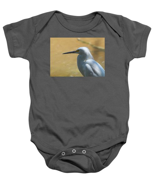 Egret Pose Baby Onesie