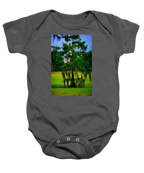 Egret Tree Baby Onesie