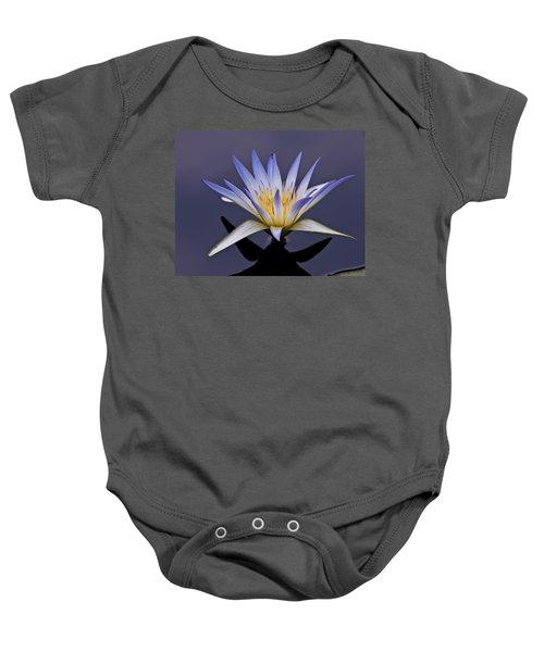 Egyptian Lotus Baby Onesie