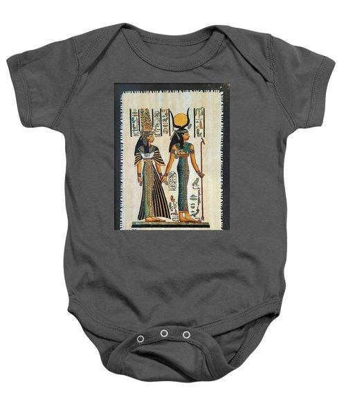 Egyptian Papyrus Baby Onesie