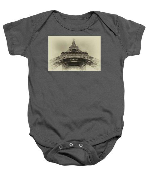 Eiffel Tower 2 Baby Onesie
