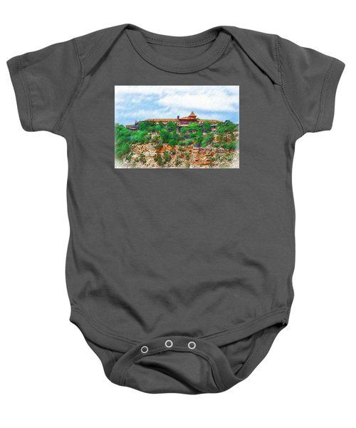 El Tovar At The Grand Canyon Baby Onesie