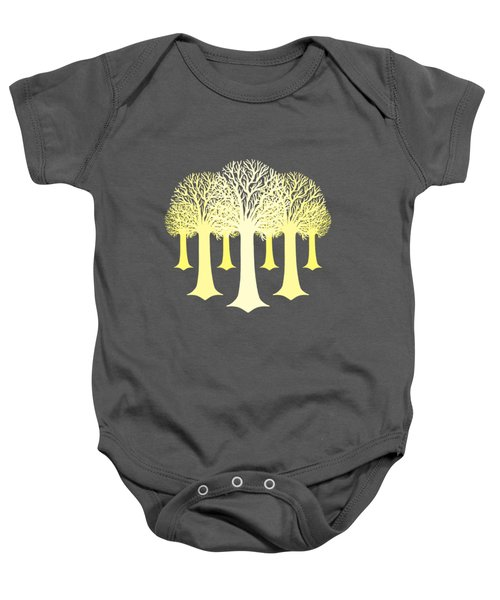 Electricitrees Baby Onesie by Freshinkstain