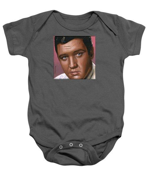 Elvis 24 1962 Baby Onesie by Rob De Vries