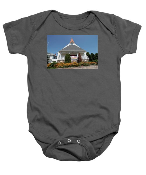 Emanuel Lutheran Church  Patchogue Ny Baby Onesie