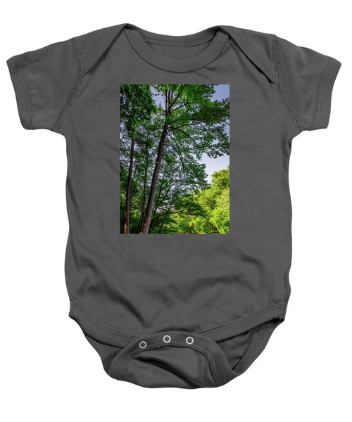 Emerald Afternoon Baby Onesie