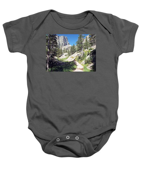 Emerald Lake Trail - Rocky Mountain National Park Baby Onesie