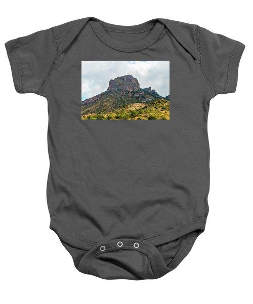 Emory Peak Chisos Mountains Baby Onesie