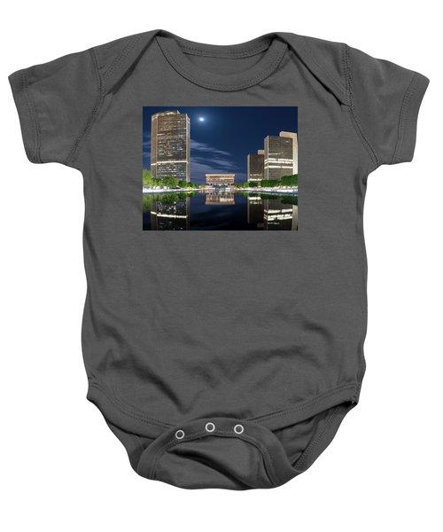 Empire State Plaza Baby Onesie