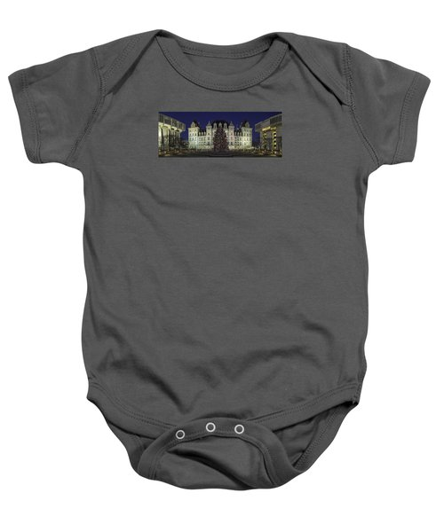 Empire State Plaza Holiday Baby Onesie