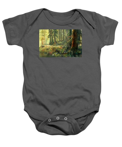 Enchanted Rain Forest Baby Onesie